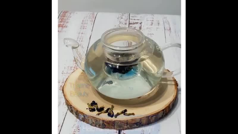 Как заваривать тайский синий чай Анчан