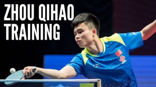 ZHOU Qihao Training and Best Points of Champion 2021 Chinese Trials