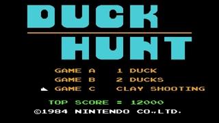 Duck Hunt. Clay Shooting Mode. NES [Gameplay (10 Rounds) / Геймплей (10 Раундов)]